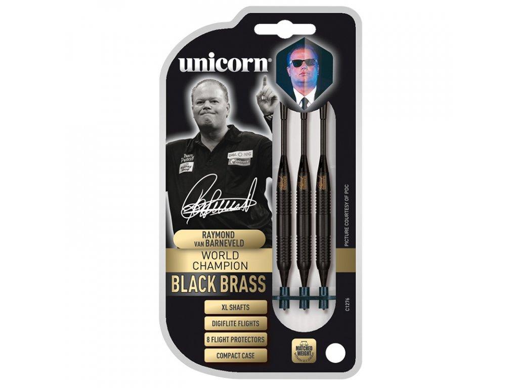 Unicorn Black Brass - XL shafts Raymond van Barneveld 17 g