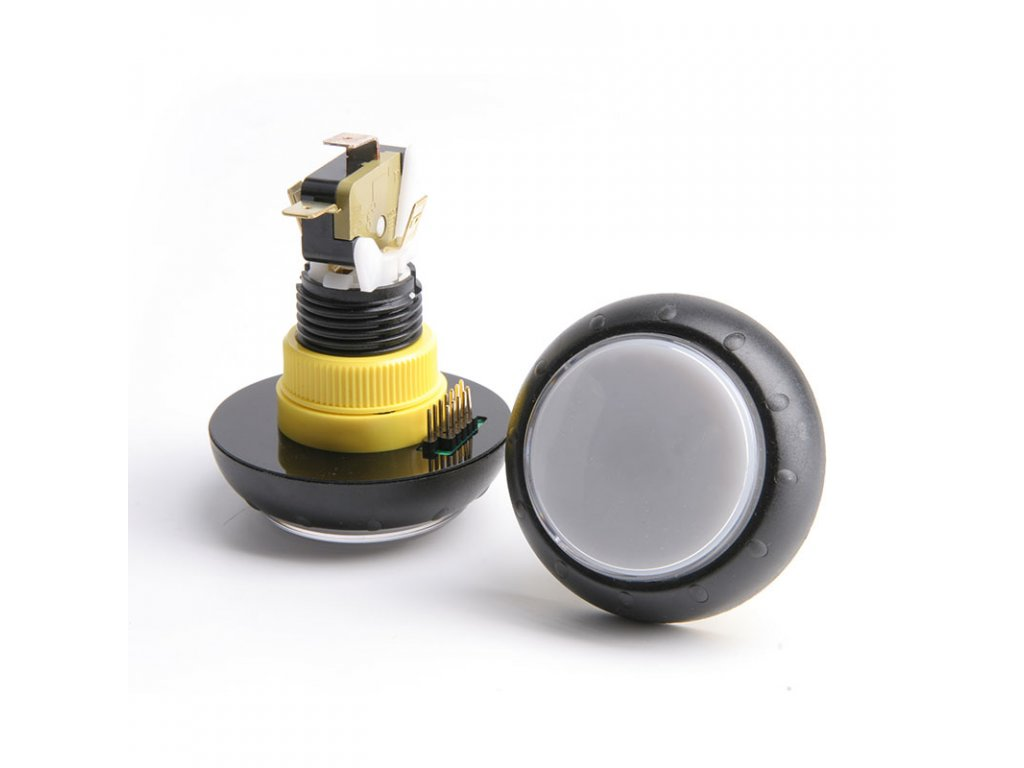 Kulaté tlačítko s LED diodami po obvodě Gamesman GPB430