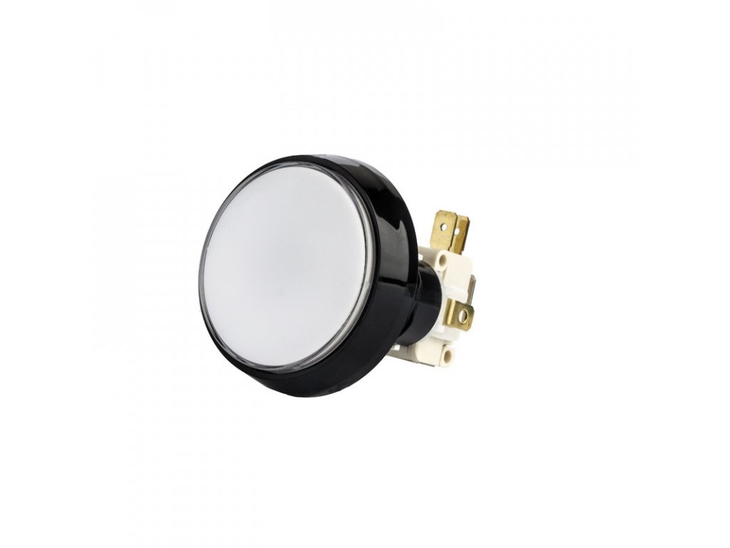 Osvětlené kulaté tlačítko Alberici SP18 - ø 45,3 mm