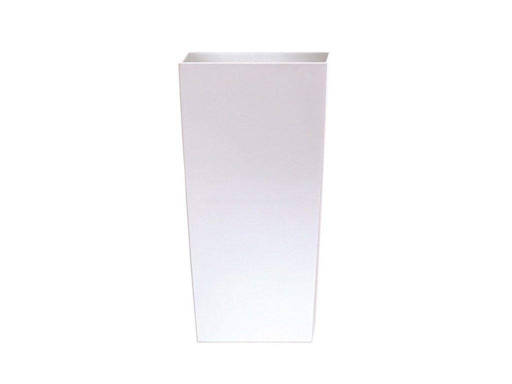Květináč URBI SQUARE MATT bílý 12,6cm