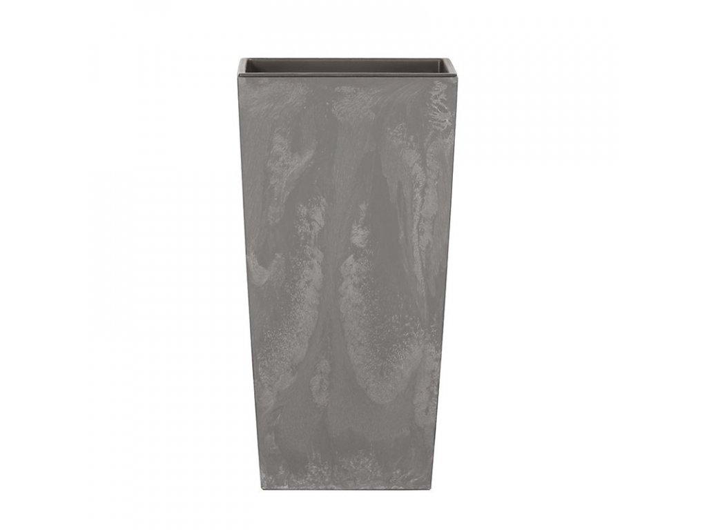 Květináč URBI SQUARE BETON EFFECT marengo 12,6 cm