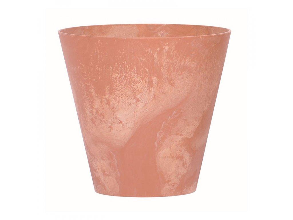 Květináč TUBUS BETON EFFECT terakota 40 cm