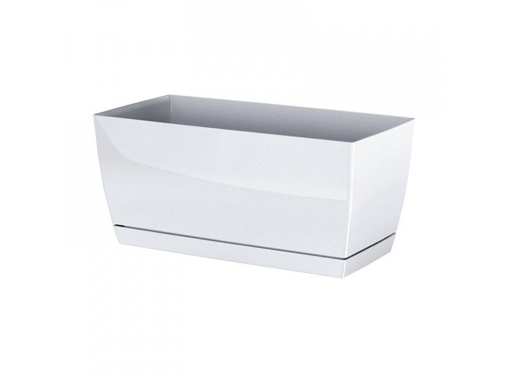 Truhlík COUBI CASE P s miskou bílý 24cm