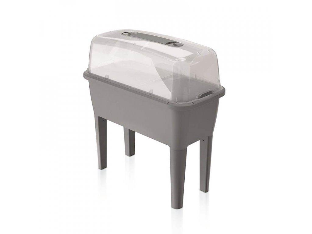 Sadbovač set RESPANA PLANTER SET šedý kámen 77.0cm