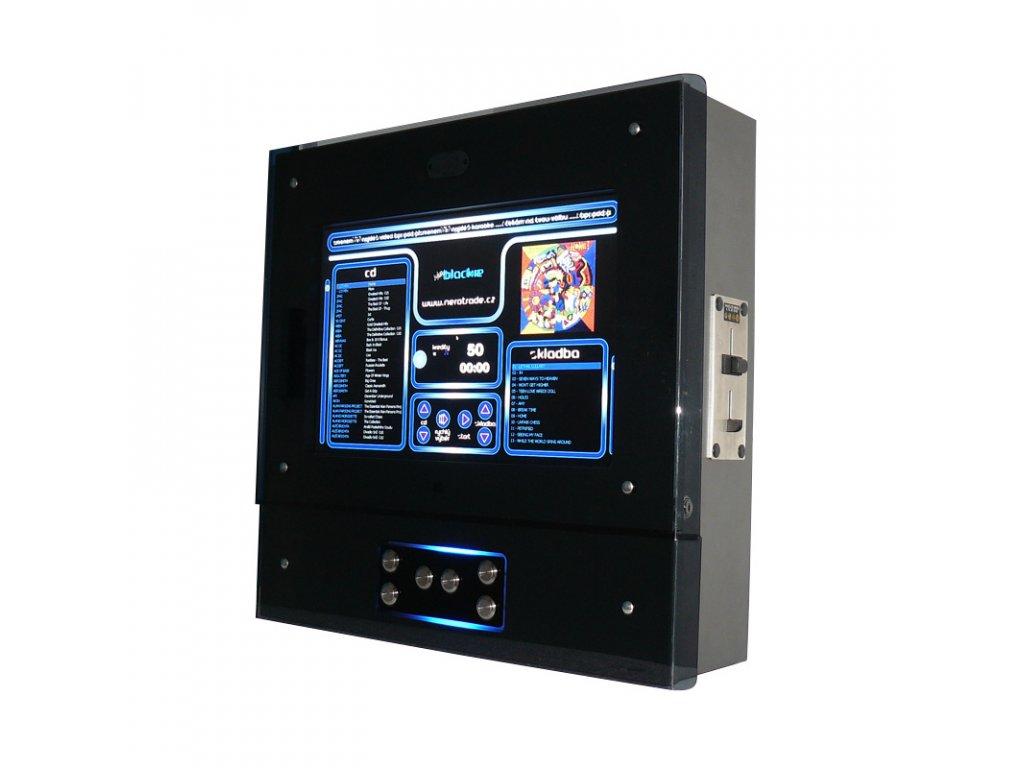 Nástěnný jukebox BLACKIE PLUS - audio, video, karaoke, HDMI