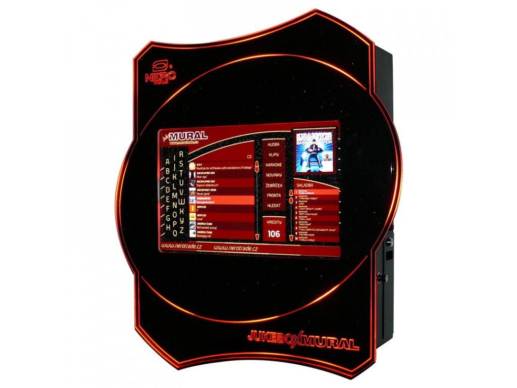 Nástěnný jukebox MURAL II PLUS - audio, video, karaoke, HDMI