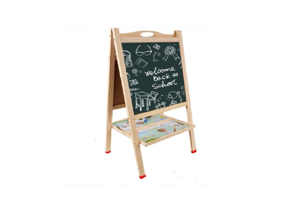 detska drevena oboustranna tabule
