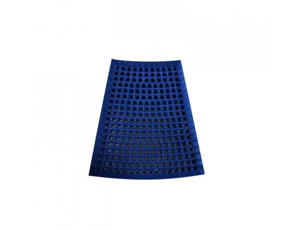 segment lichobeznik velky modrý