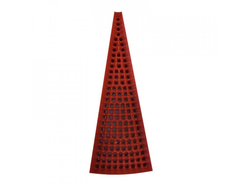 segment trojuhlenik červený