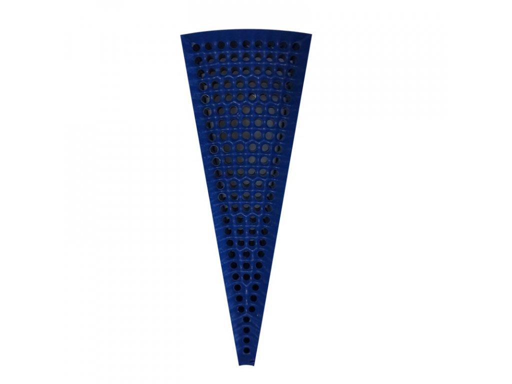 segment trojuhlenik modrý