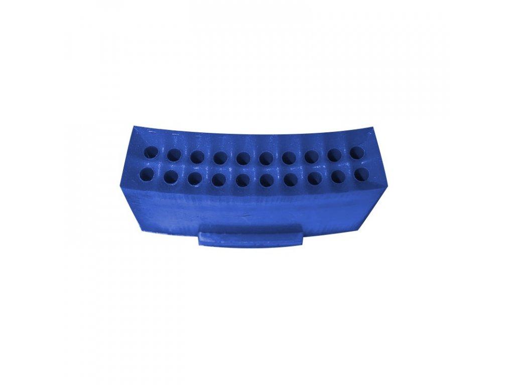 segment triple modrý