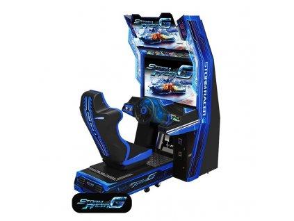 Interaktivní závodní simulátor - Storm Racer Gravity