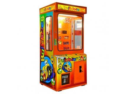 Dětský výherní automat věcných cen - Bulldozer