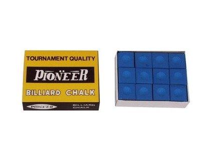 pol pm Kreda bilardowa Pioneer niebieska 12 szt 2218 1