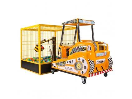 Interaktivní dětský bagr - Excavator Deluxe