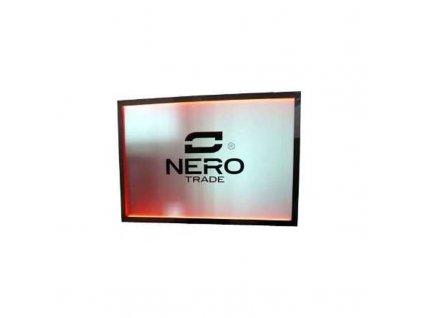 Podsvětlený poutač / zástěna NERO