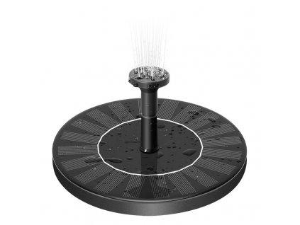 Solární plovoucí fontána s akumulátorem, 2,4 W, 60 cm