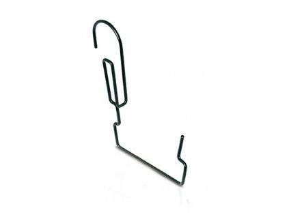 drzak na truhliky agrohang kovovy cerny 23cm