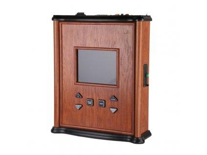 Dřevěný nástěnný jukebox MINI PLUS – audio, video, karaoke, HDMI