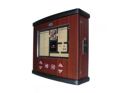Dřevěný nástěnný jukebox WOODY PLUS – audio, video, karaoke, HDMI