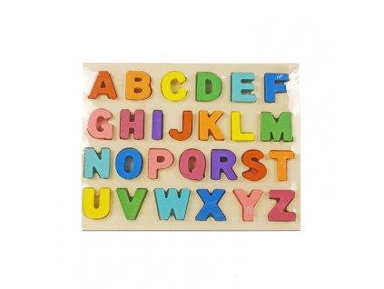 drevena barevna abeceda