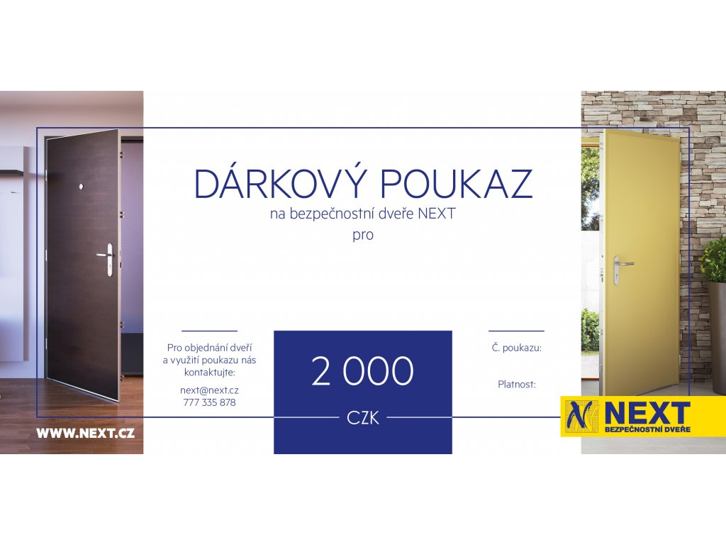 voucher next 2000