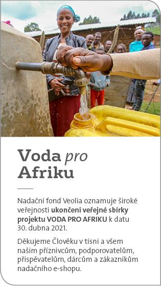 Voda pro Afriku - ukončení sbírky