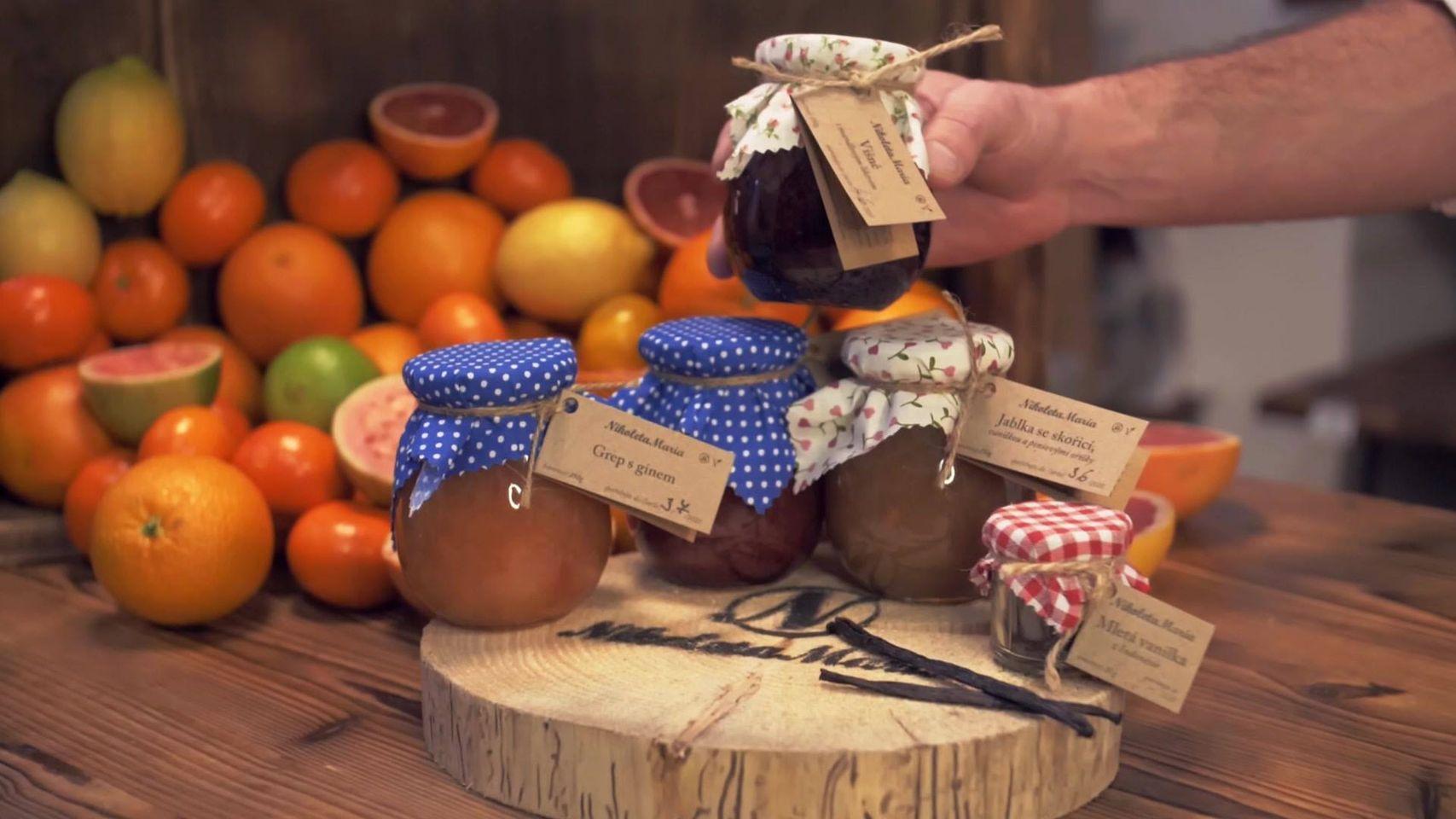 výroba marmelády