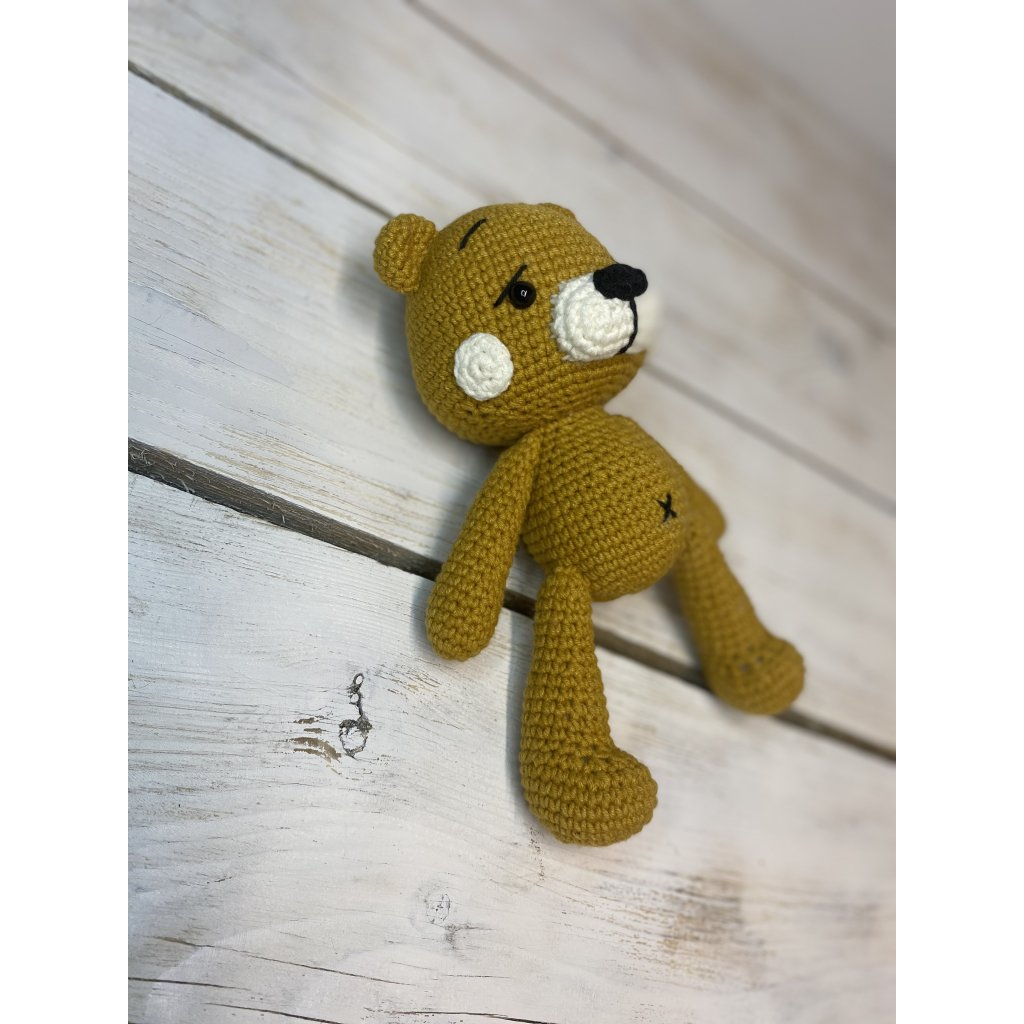Hořčicový medvídek