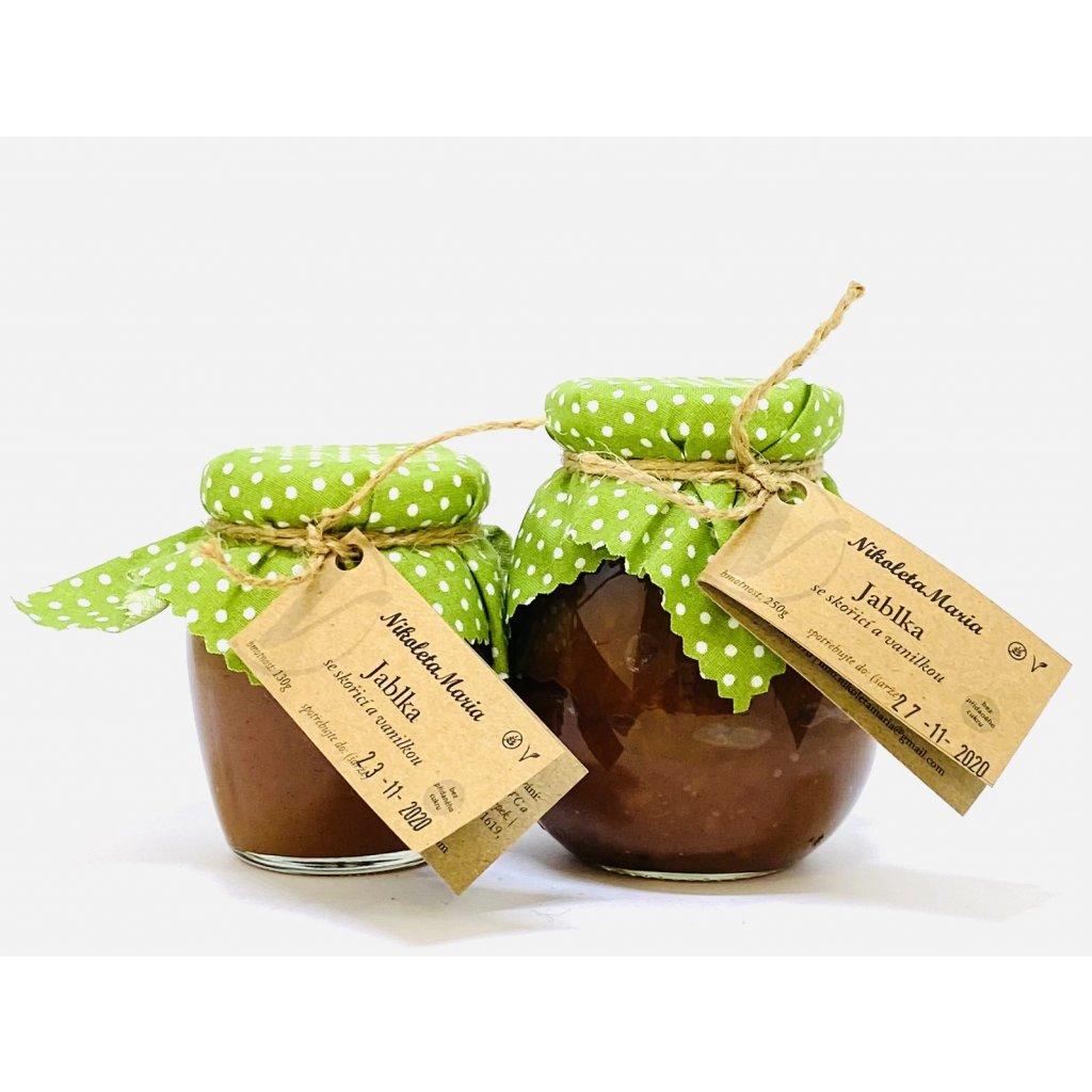 Jablka se skořicí a vanilkou | Bez přidaného cukru