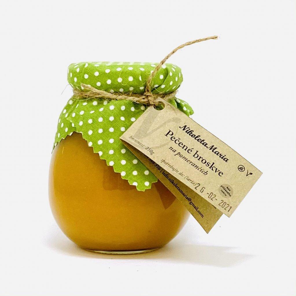 Pečené broskve na pomerančích | Bez přidaného cukru