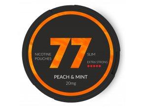 77 peach mint