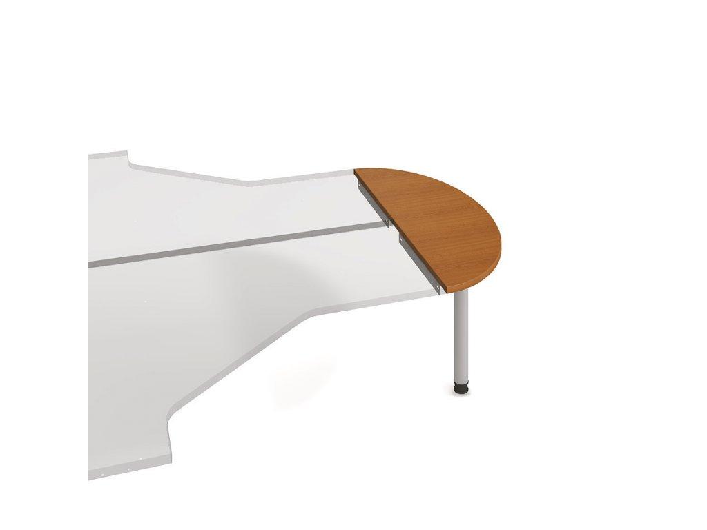 Stůl zakončovací oblouk 120 cm - Hobis Gate GP 120