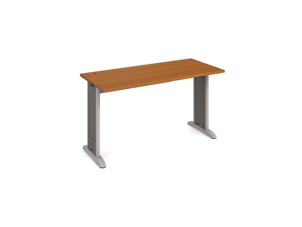 Stůl pracovní rovný 140 cm hl. 60 cm - Hobis Flex FE 1400