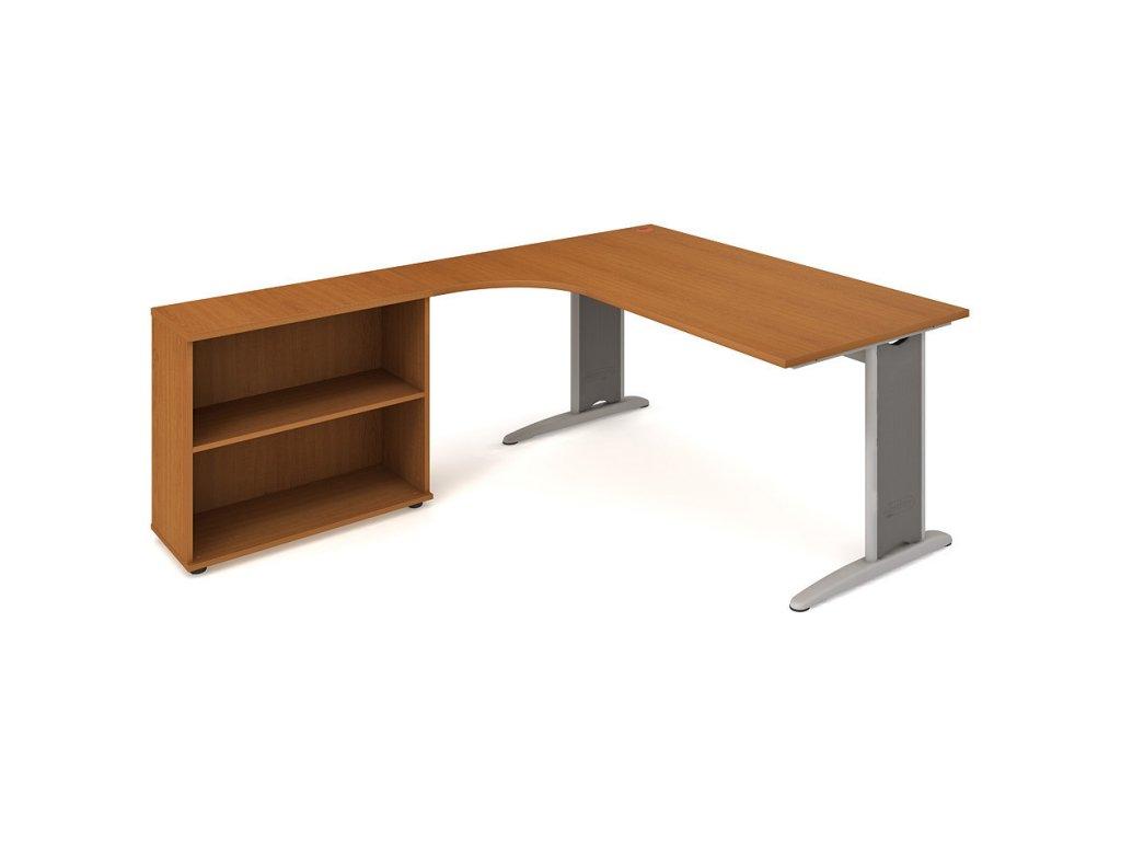 Sestava stolu a skříně pravá 180 cm - Hobis Flex FE 1800 H P