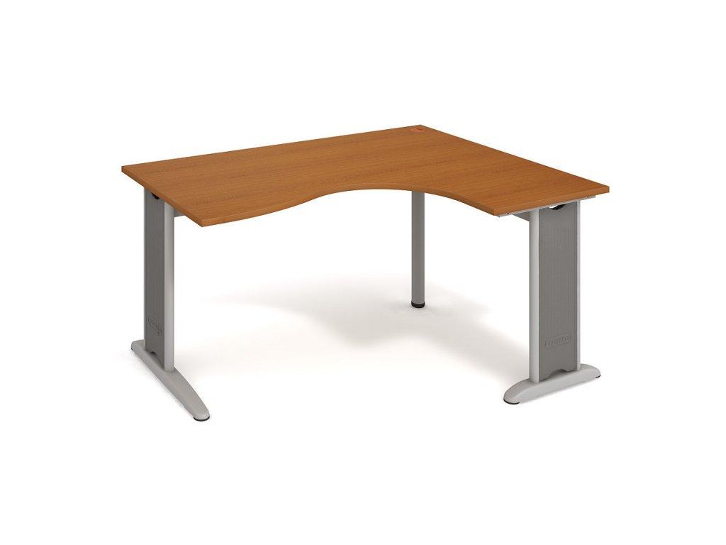 Stůl ergo oblouk levý 160×120/80 cm - Hobis Flex FE 2005 L
