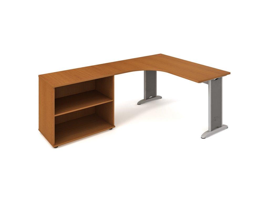 Sestava stolu a skříně pravá 160 cm - Hobis Flex FE 60 H P