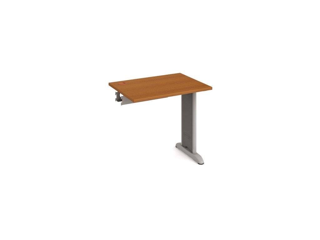 Stůl pracovní řetězící rovný 80 cm hl. 60 cm - Hobis Flex FE 800 R