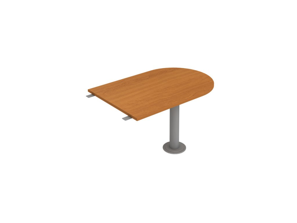 Stůl jednací délky 120 cm ukončený obloukem - Hobis Flex FP 1200 3