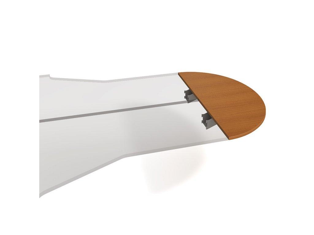 Stůl zakončovací oblouk 160 cm - Hobis Flex FP 160
