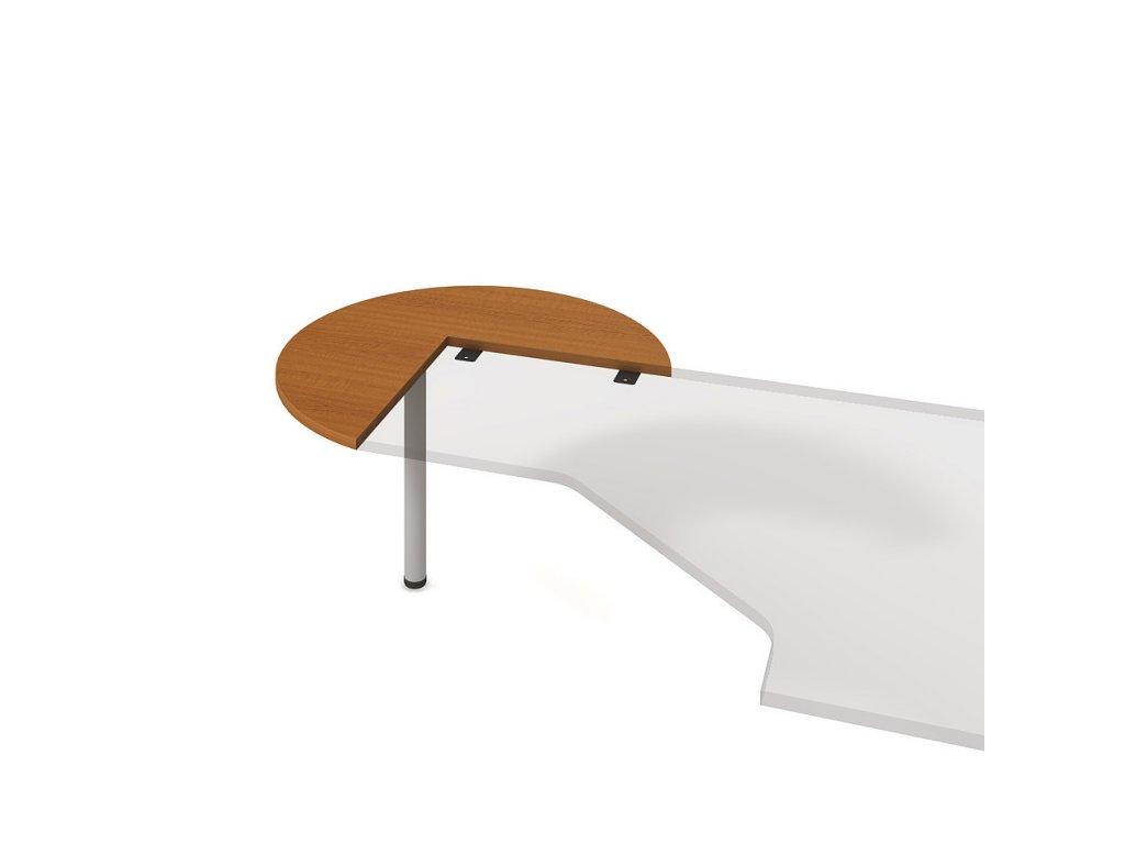 Stůl přídavný levý pr. 100 cm - Hobis Flex FP 21 L