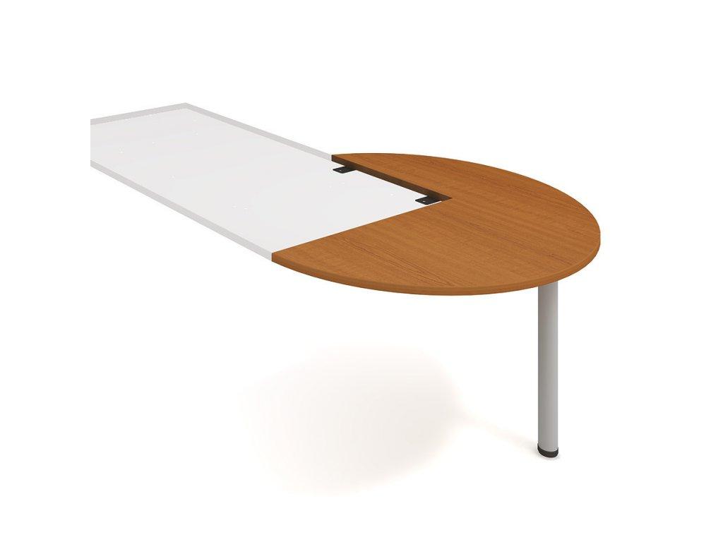 Stůl přídavný pravý podél pr. 120 cm - Hobis Flex FP 22 P P