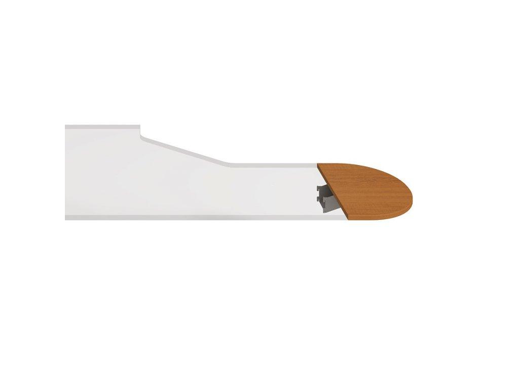 Stůl zakončovací oblouk 60 cm - Hobis Flex FP 60