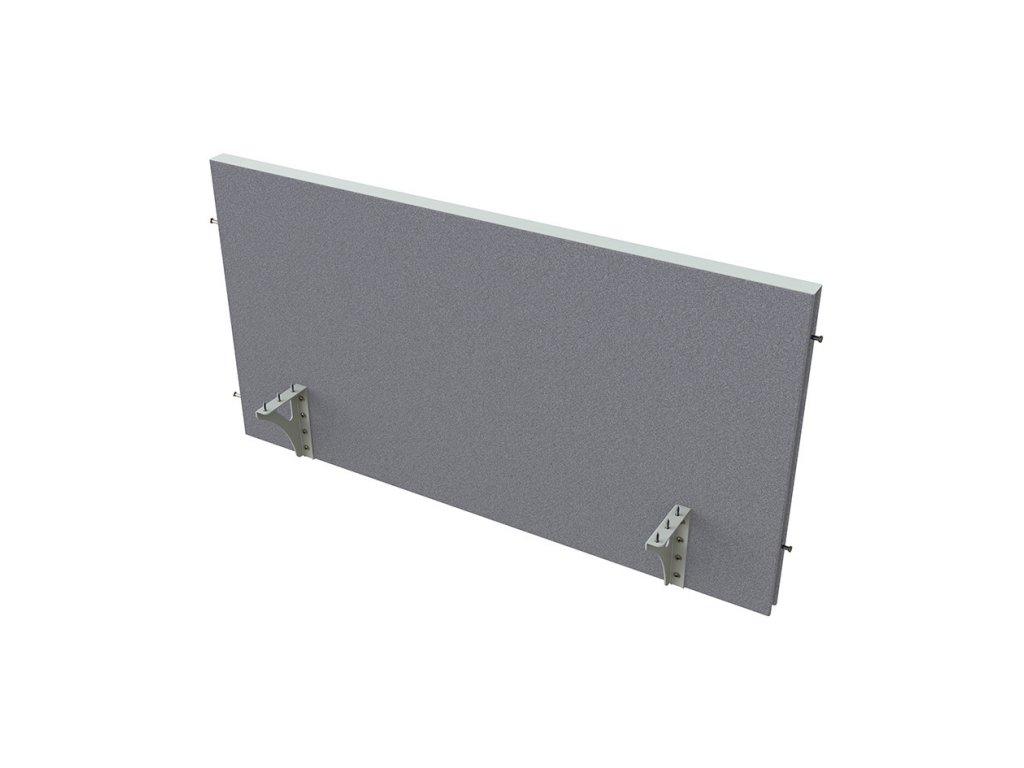 Akustik paraván na hranu stolu 120 cm TPA H 1200