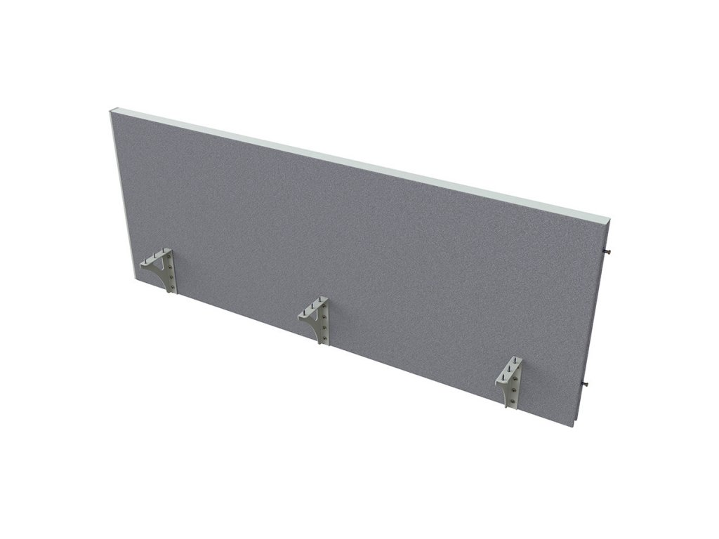 Akustik paraván na hranu stolu 160 cm TPA H 1600 SK 1