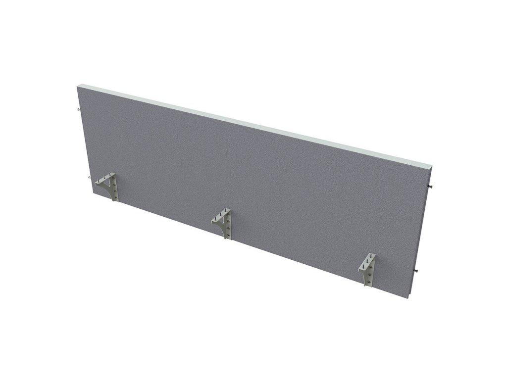 Akustik paraván na hranu stolu 180 cm TPA H 1800