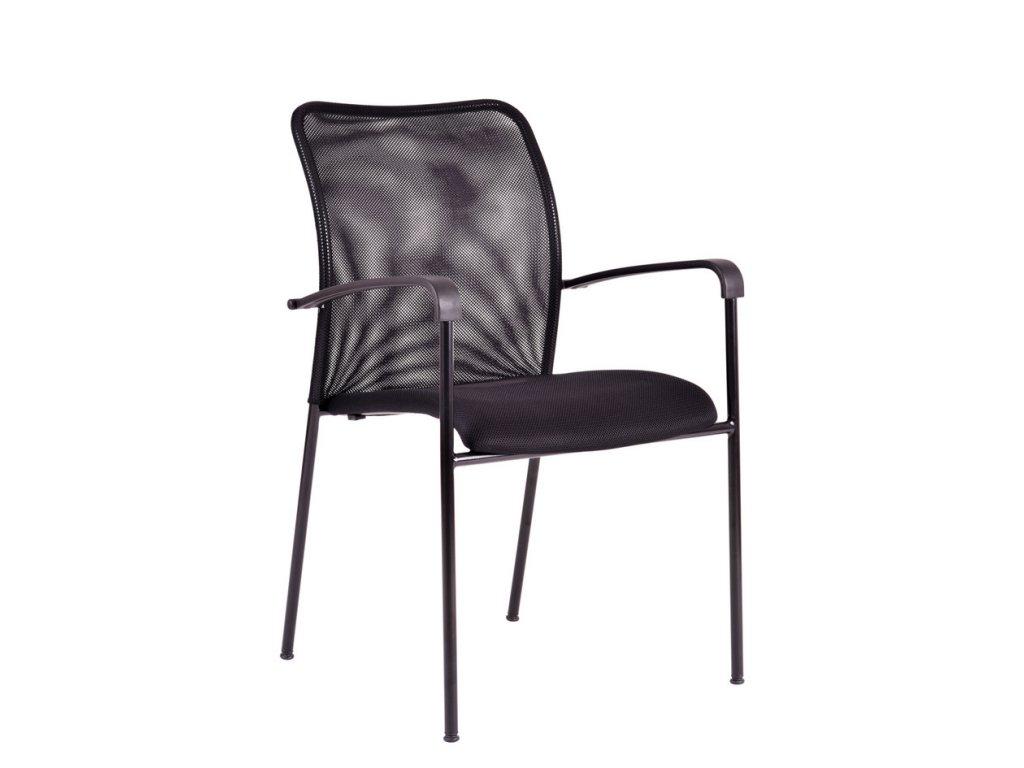 Jednací židle TRITON BLACK SL