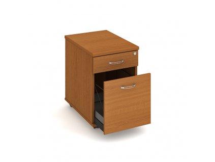 Kontejner 2 zásuvky napříč 60 cm Hobis K 22 ZSC N