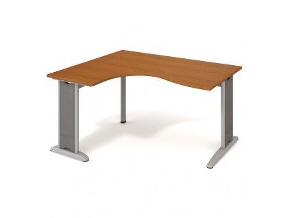 Stůl ergo oblouk pravý 160×120/80 cm - Hobis Flex FE 2005 P