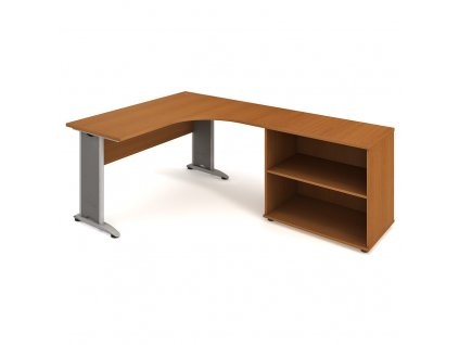 Sestava stolu a skříně levá 160 cm - Hobis Cross CE 60 H L